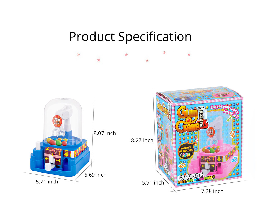 Creative Candy Clamping Machine Toy with Flexible Articulated Arm, Funny Carton Candy Sugar Crane Manual Machine for Children 13