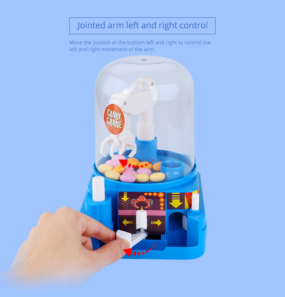 Creative Candy Clamping Machine Toy with Flexible Articulated Arm, Funny Carton Candy Sugar Crane Manual Machine for Children 11