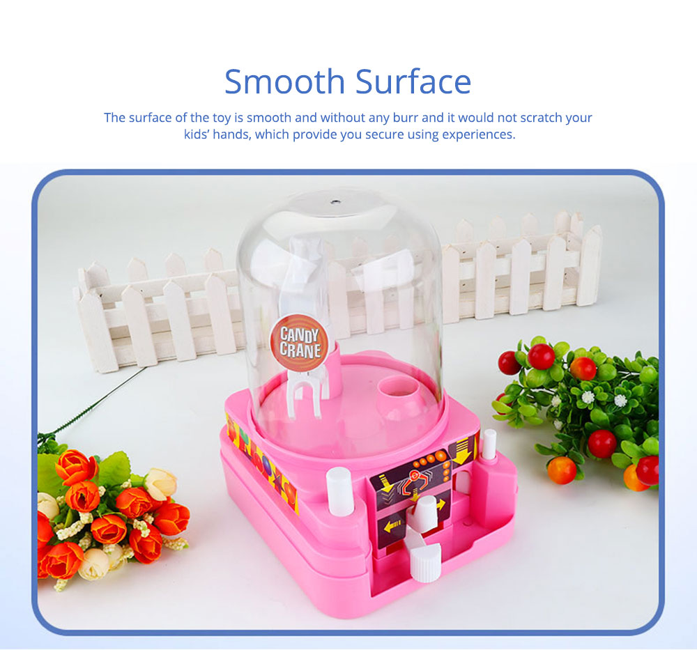 Creative Candy Clamping Machine Toy with Flexible Articulated Arm, Funny Carton Candy Sugar Crane Manual Machine for Children 3