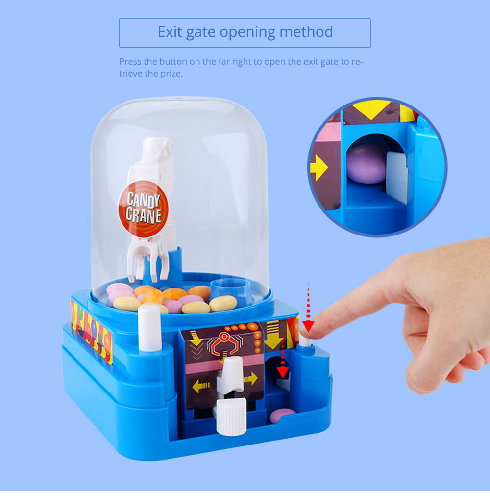 Creative Candy Clamping Machine Toy with Flexible Articulated Arm, Funny Carton Candy Sugar Crane Manual Machine for Children 12