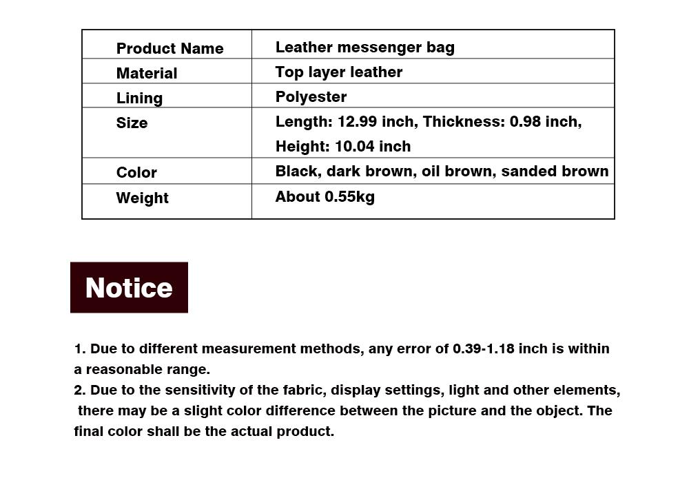 Fashion Business Flip Shoulder Bag Crossbody Bag for Men, Soft Smooth Top Layer Leather Briefcase Messenger Laptop Bag 9