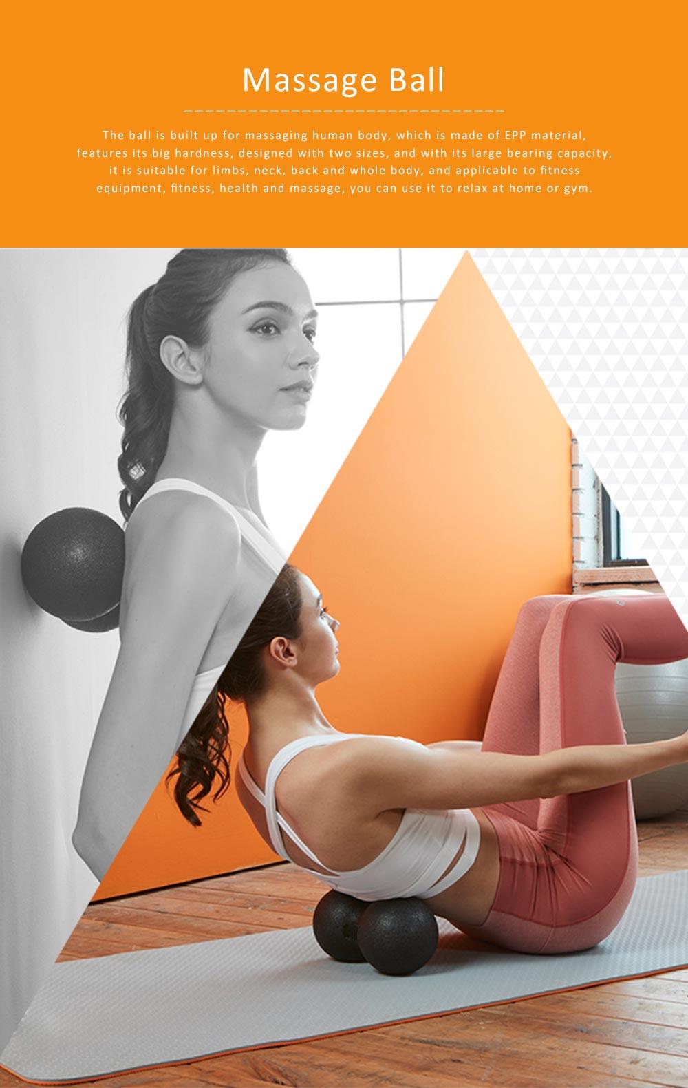 Massage Ball Peanut Shape EPP Material for Relaxing Training Body Mini Yoga Ball 0