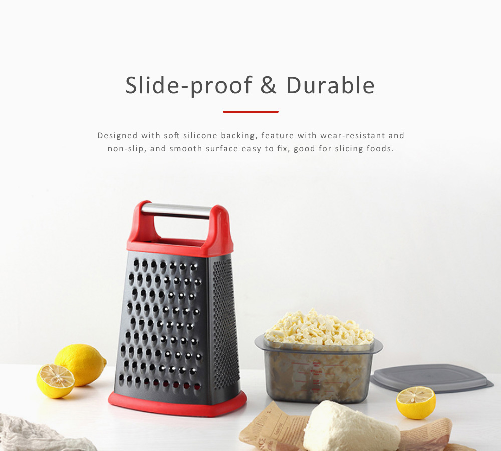 Grater Stainless Steel ABS Material for Kitchen Foods Fruit Cutter Garlic Grind Machine Non-stick Slicer 4