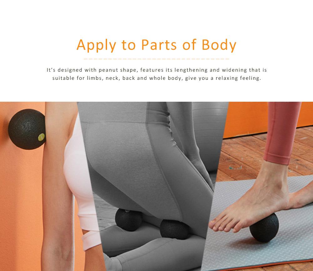 Massage Ball Peanut Shape EPP Material for Relaxing Training Body Mini Yoga Ball 5