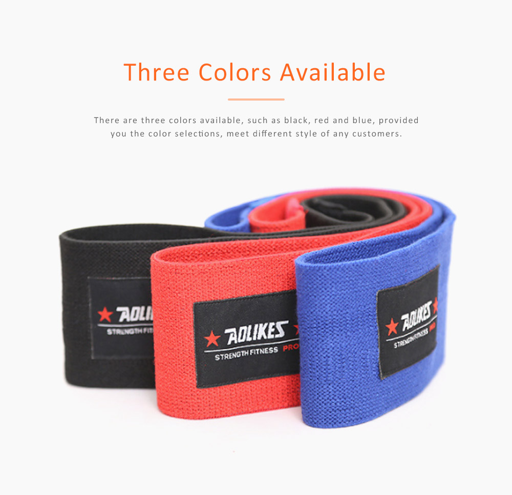 Yoga Band Polyester Latex Material for Training Elastic Resistance Ring Hip Circle 2