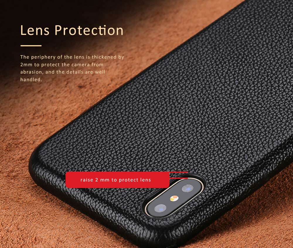 Leather Mobile Phone Shell for Xiaomi 8 Mix2s Xiaomi 6 Mix2 Mobile Protect Covers Durable Case Custom-made 2