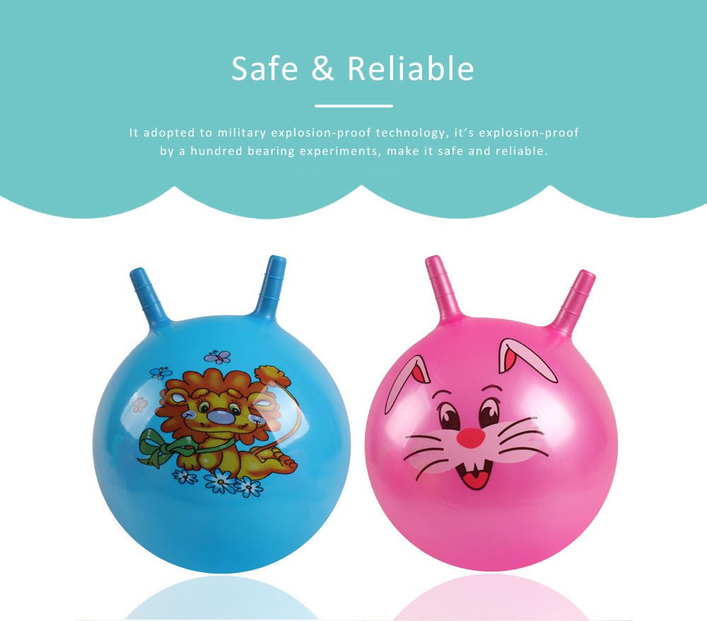 Inflatable Croissant Ball Cartoon Design PVC Material for Children Explosion-proof Inflate Toys 5