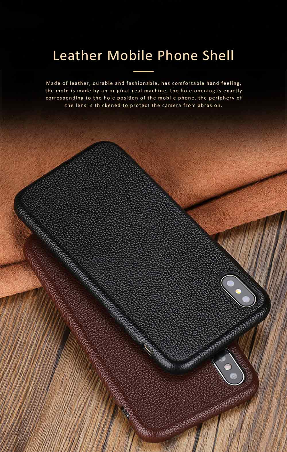 Leather Mobile Phone Shell for Xiaomi 8 Mix2s Xiaomi 6 Mix2 Mobile Protect Covers Durable Case Custom-made 0