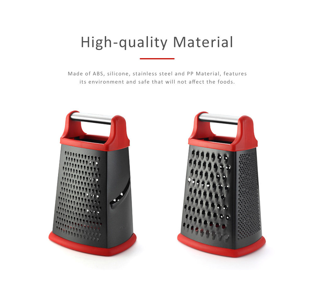 Grater Stainless Steel ABS Material for Kitchen Foods Fruit Cutter Garlic Grind Machine Non-stick Slicer 3