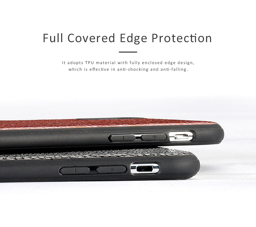 Durable Fashionable Leather Protective Case Mobile Cover for Xiaomi 8/ 8se/ Max3/ 6X 1