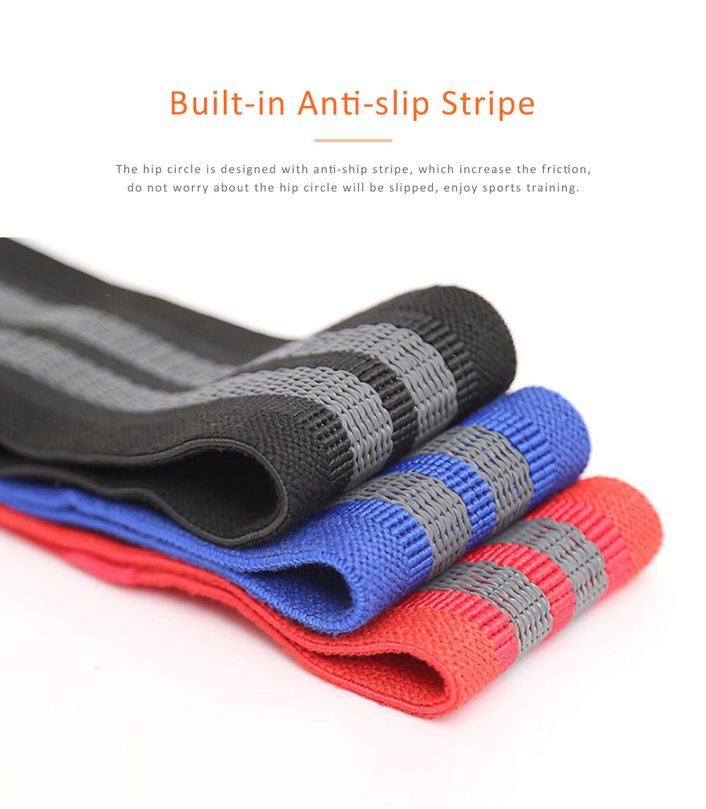 Yoga Band Polyester Latex Material for Training Elastic Resistance Ring Hip Circle 1