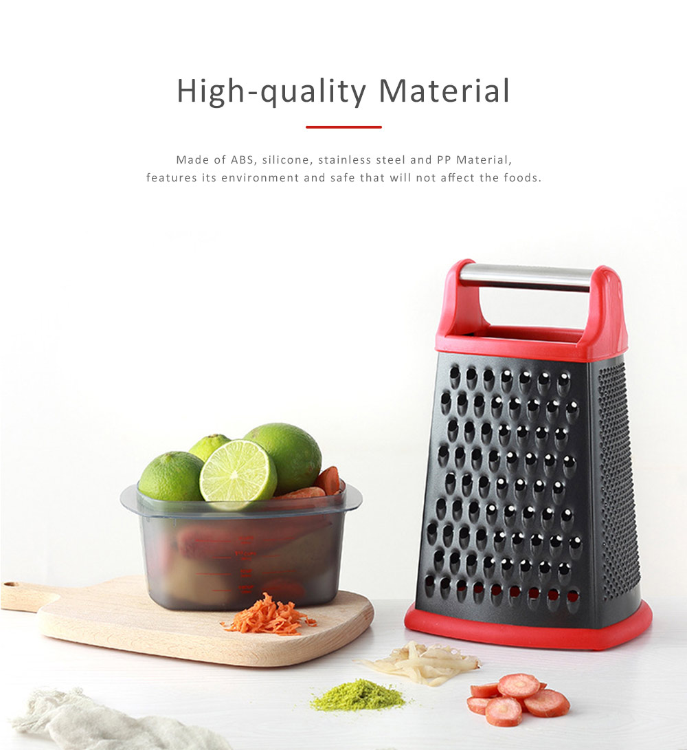 Grater Stainless Steel ABS Material for Kitchen Foods Fruit Cutter Garlic Grind Machine Non-stick Slicer 0