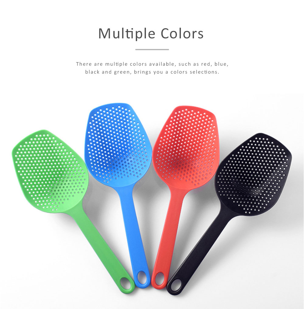Spatula Glass Fiber Nylon Material Heatproof Spade for Drain Hot Oil Water Scoop Kitchen Shovel 1
