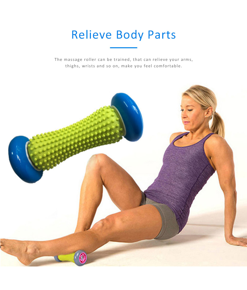 Massage Roller PVC Material for Relaxing Training Body Fitness Device Yoga Roller 3