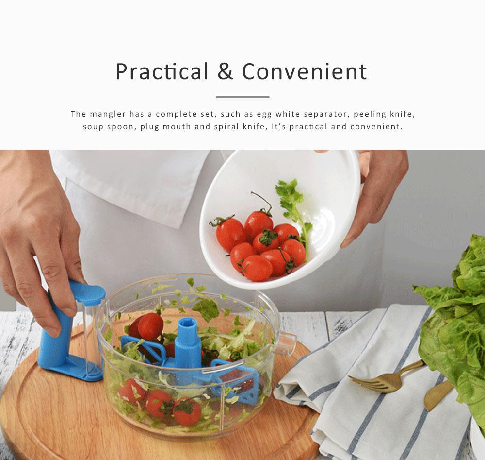 Meat Grinder Stainless Steel ABS Material Practical Slicer for Foods Cutter Multifunctional Mangler 4