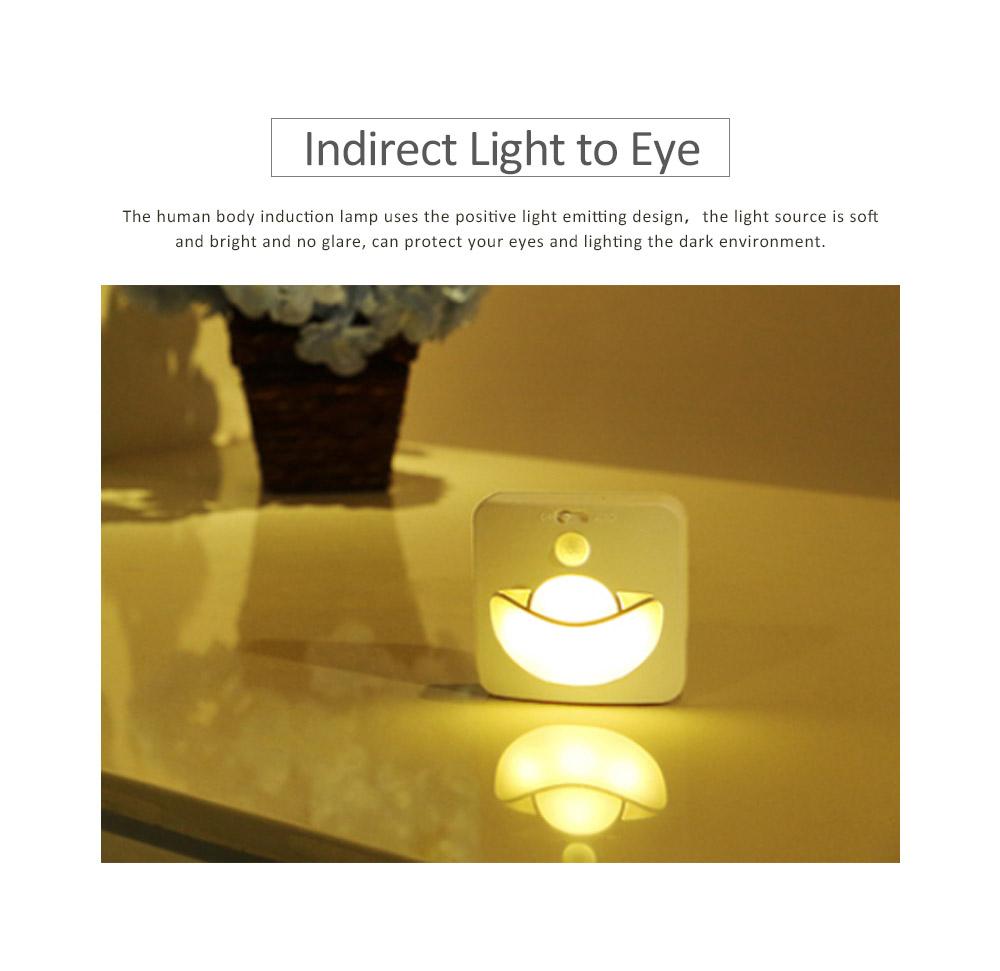 Automatic Human Body Induction Lamp, Three models Infrared Sensor Motion Detector Night Light Manual Light 5