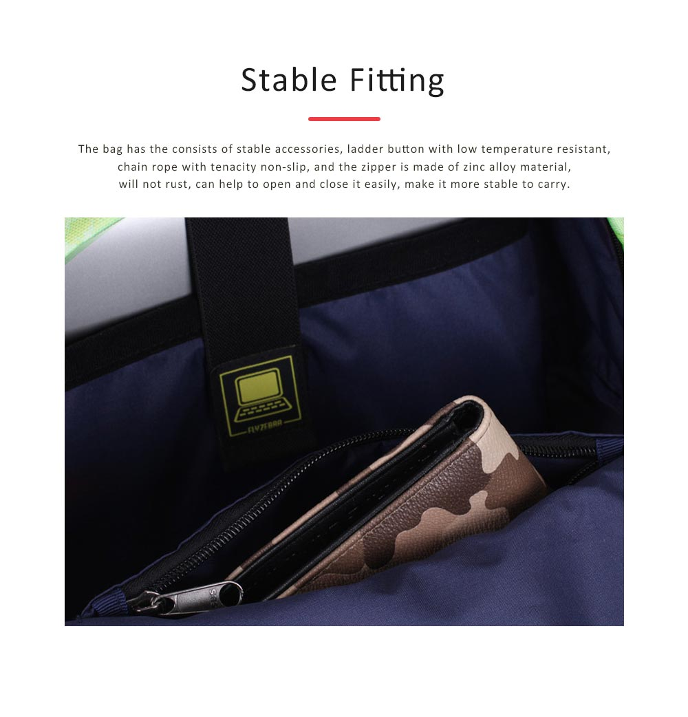 Women Backpack Polyester Durable with Zinc Alloy Zipper Waterproof Fashionable Women Pack-sack 3