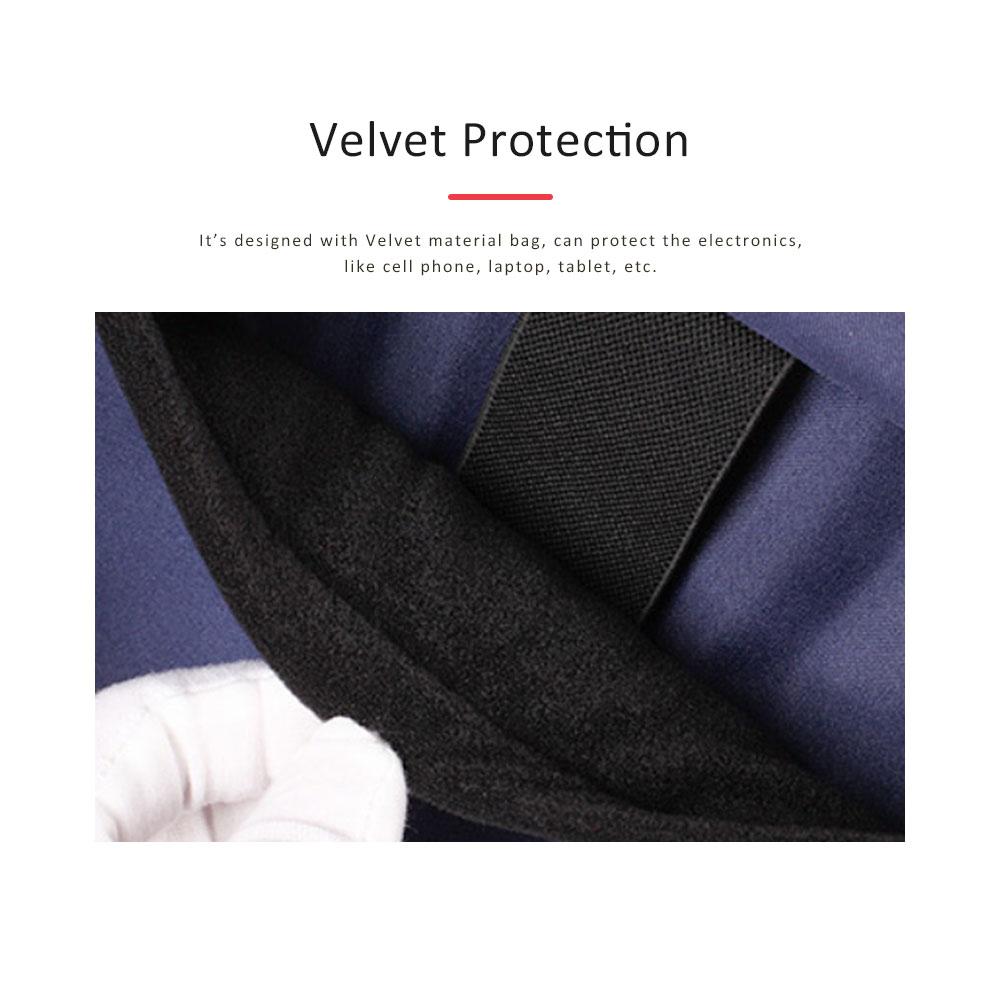 Unisex Black-white Backpack for Travel, Fashionable School Backpack for 14 inch Laptop 5