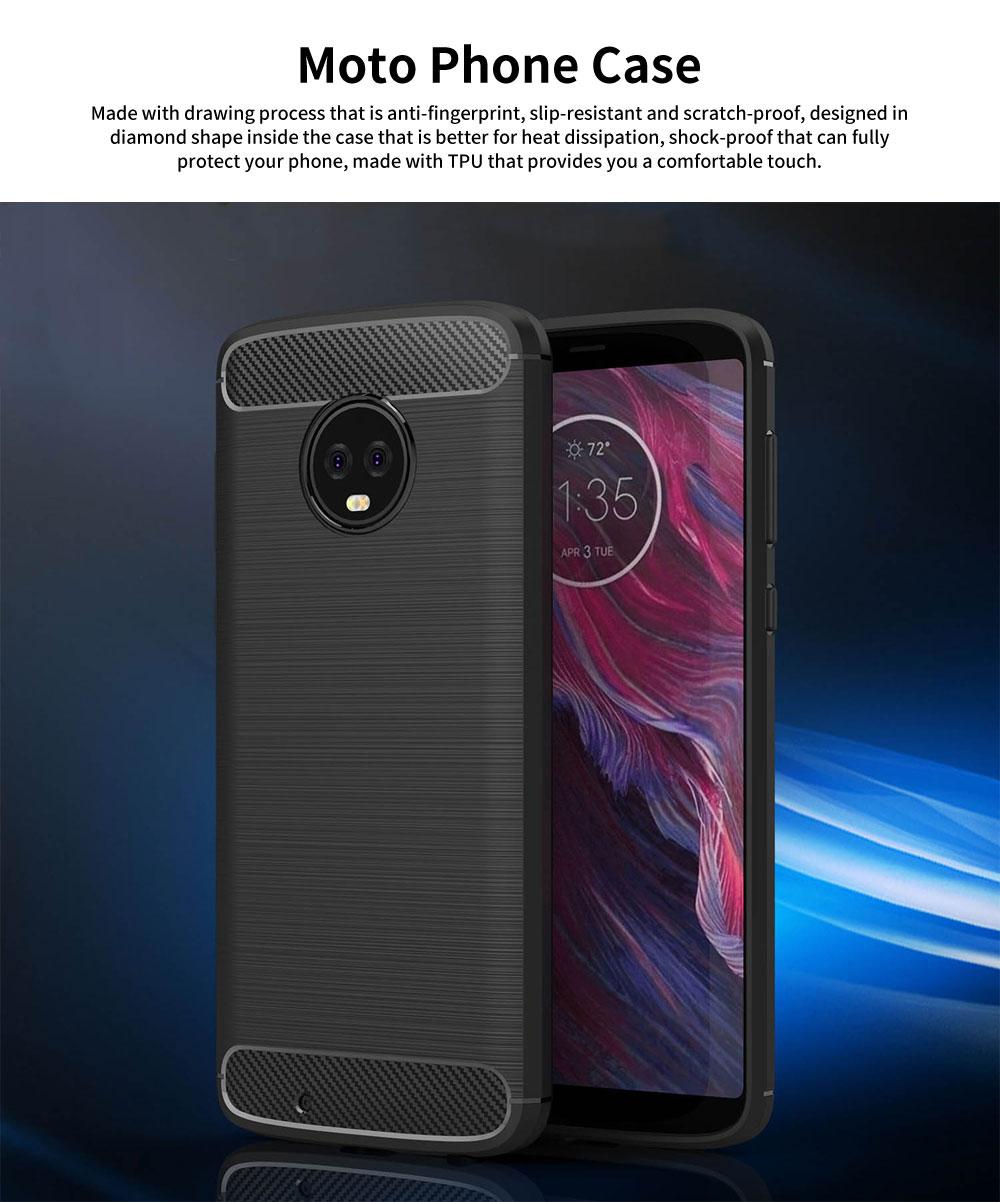 MOTO Phone Case for G5, G5s, G6, Shock-proof Scratch-Proof Phone Case, Protection Case for Motorola Phone 0