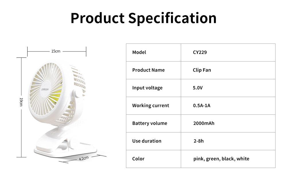 Mini Handheld USB Fan, Portable Desk & Table Fan Ideal for Home, Office, Travel, Outdoor, Bed, Laptop, Desktop 6