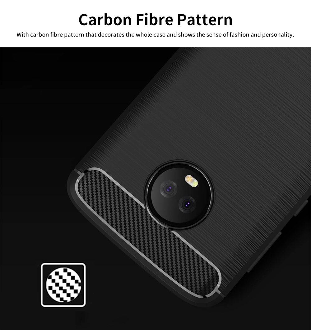 MOTO Phone Case for G5, G5s, G6, Shock-proof Scratch-Proof Phone Case, Protection Case for Motorola Phone 5