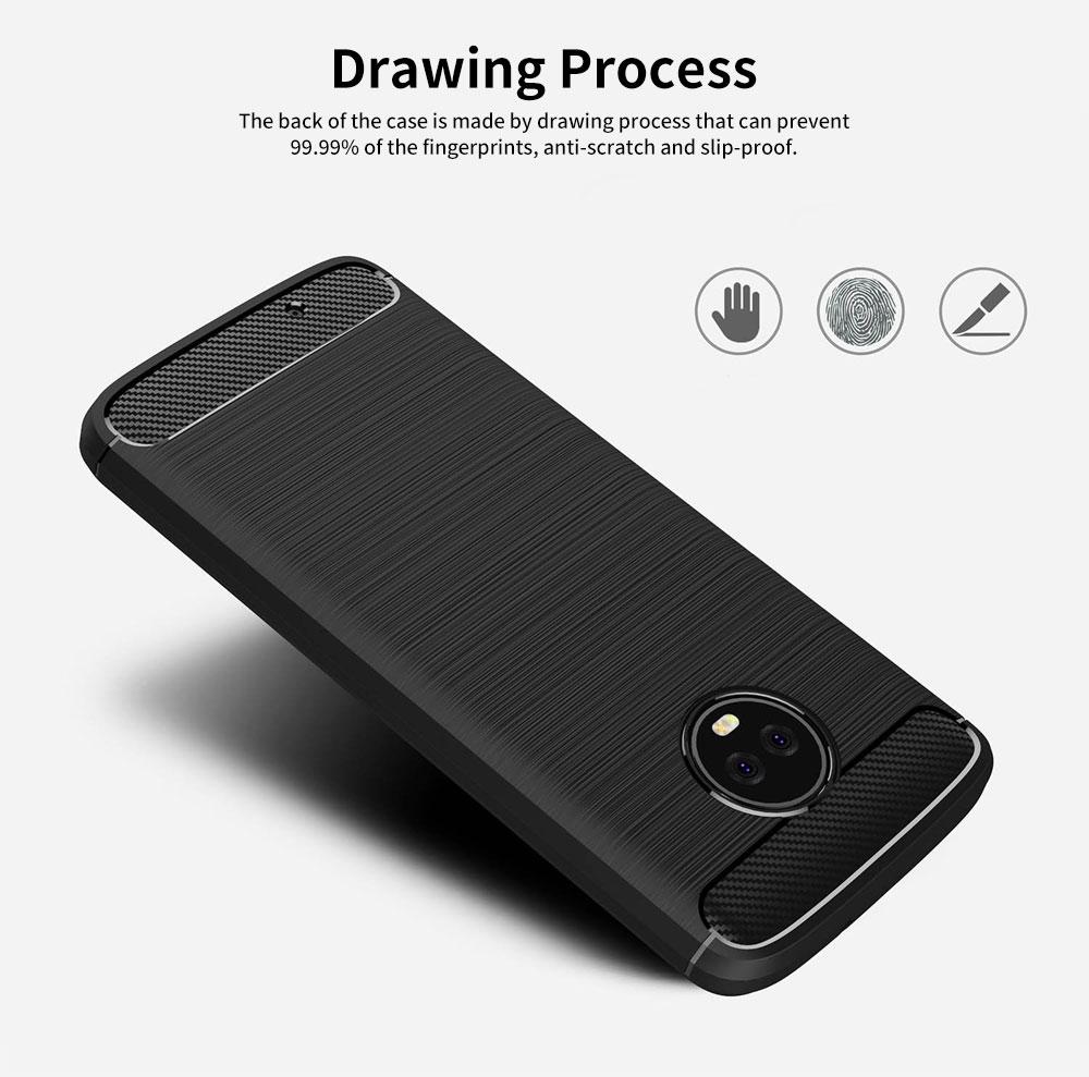 MOTO Phone Case for G5, G5s, G6, Shock-proof Scratch-Proof Phone Case, Protection Case for Motorola Phone 1