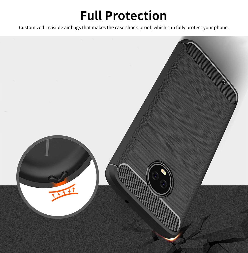 MOTO Phone Case for G5, G5s, G6, Shock-proof Scratch-Proof Phone Case, Protection Case for Motorola Phone 3