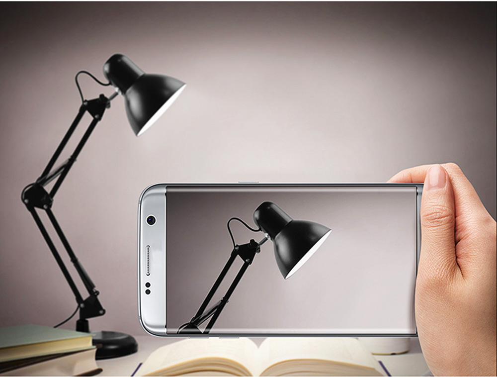 Classical Delicate Table Lamp Reading Light, Adjustable Solid ABS Metal Bedside Desktop Night Light Lamp 5
