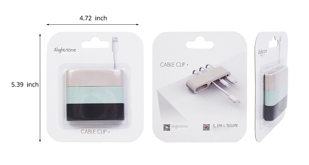 Minimalist Ultrasoft Natural Rubber Cable Clip Fixer, Multipurpose Wire USB Charger Data Line Organizer Holder 9