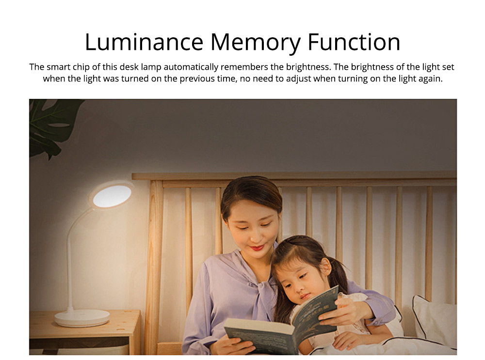 Flexible Eye Protection LED Table USB Charging Round Lamp, 3 Models Dimming Stepless Adjusted Light Lamp with Intelligent Touch 14