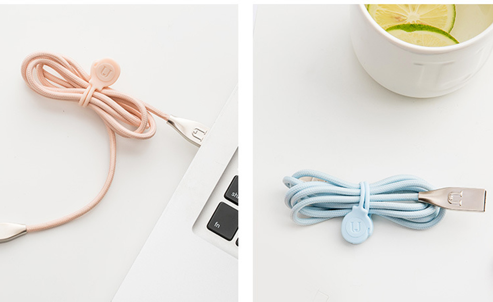 Minimalist 3PCS Magnetic Date Line Wire Organizer Strap, Soft Silicone Charging Line Earphone Wire Receiving Buckle Belt 5