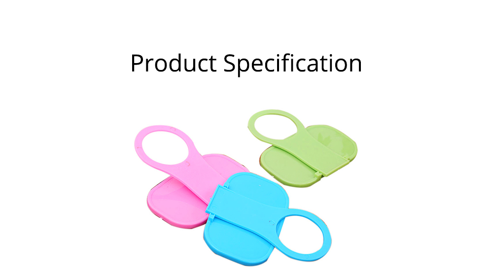 Creative Foldable Mobile Phone Charging Bracket Holder, Plastic Smart Phone Immobile Wall-Mounted Supporter Hanger 8