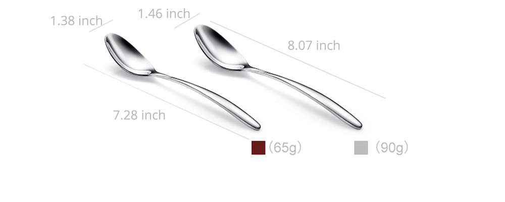 Stainless Steel Steak Knife Fork Spoon 3PCS Western Food Tableware Suit, Delicate Sharpe Smooth Surface Cutlery 2PCS Suit 12