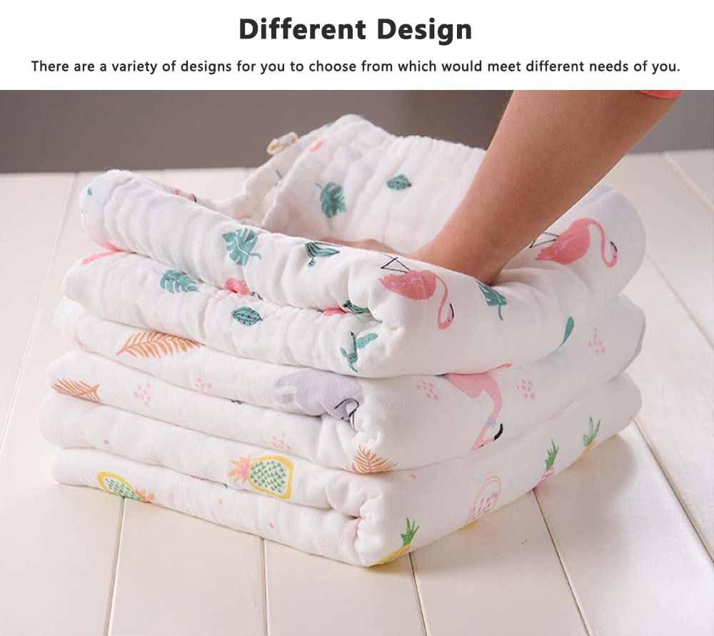 Baby Cotton Gauze Face Towel, Smooth Towels and Washcloths for Infants, Cotton Newborn Baby Bathroom Warp Towel 5