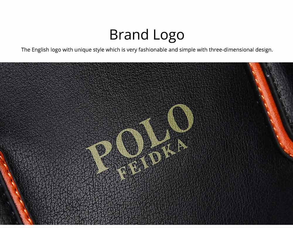 Single Shoulder Bag with Comfortable Hand Belt, PU Leather Large Capacity Inclined Shoulder Bag 1