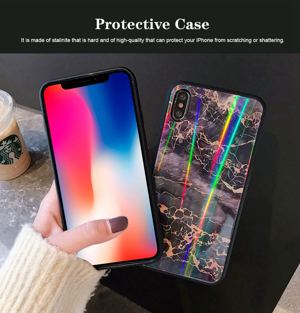 iPhone Protection Case Tempered Glass Back for iPhone XS/8 Plus/MAX/XR/7 Plus 2
