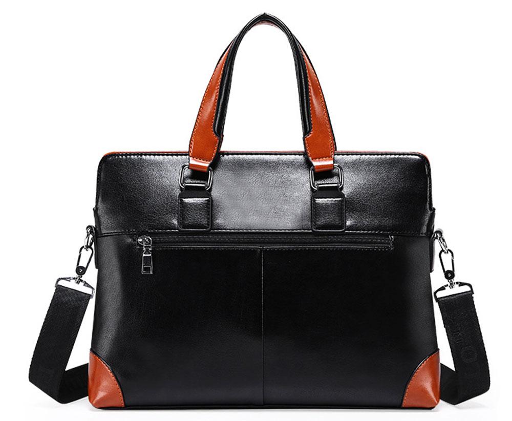 Single Shoulder Bag with Comfortable Hand Belt, PU Leather Large Capacity Inclined Shoulder Bag 8