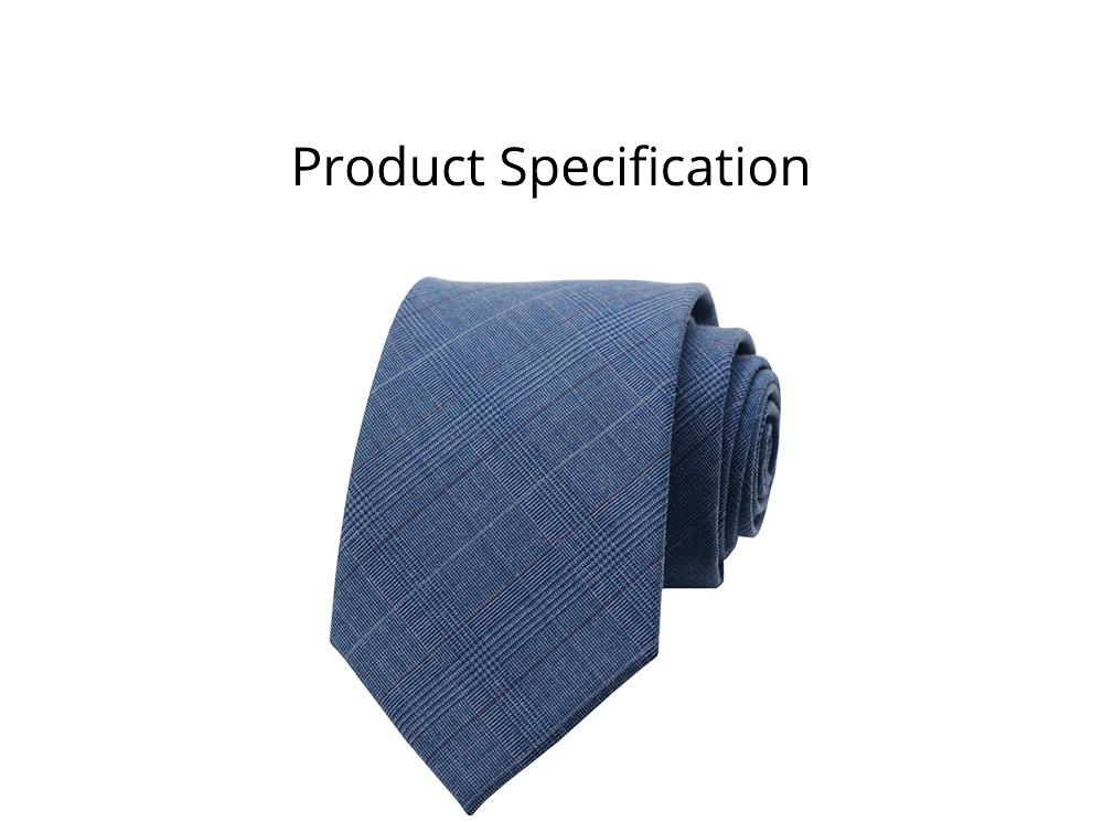 Men's Grid Necktie, Marvel Plaid Men' Business Self Tie Bow Ties 8
