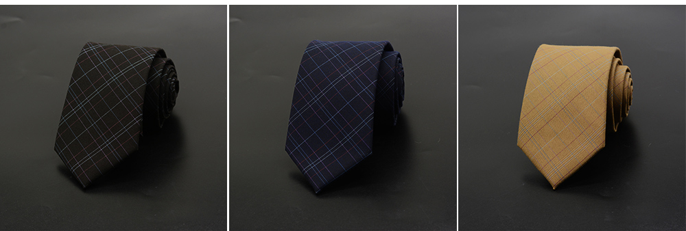 Men's Grid Necktie, Marvel Plaid Men' Business Self Tie Bow Ties 5
