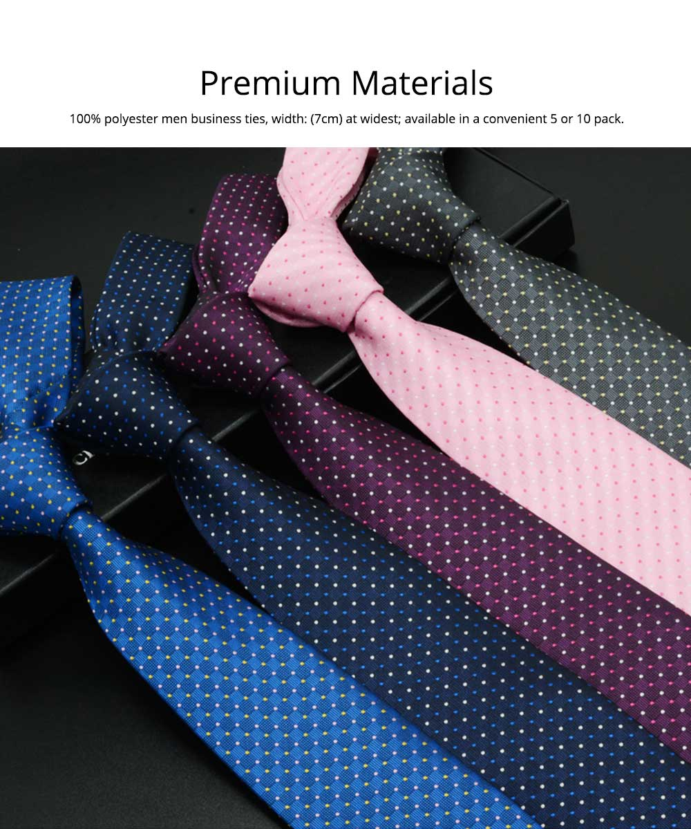 Self Tie Bow Ties for Men, Handcrafted Unique Wave Point Pattern Business Neckties for Groomsmen Gets Married, Various Styles 7
