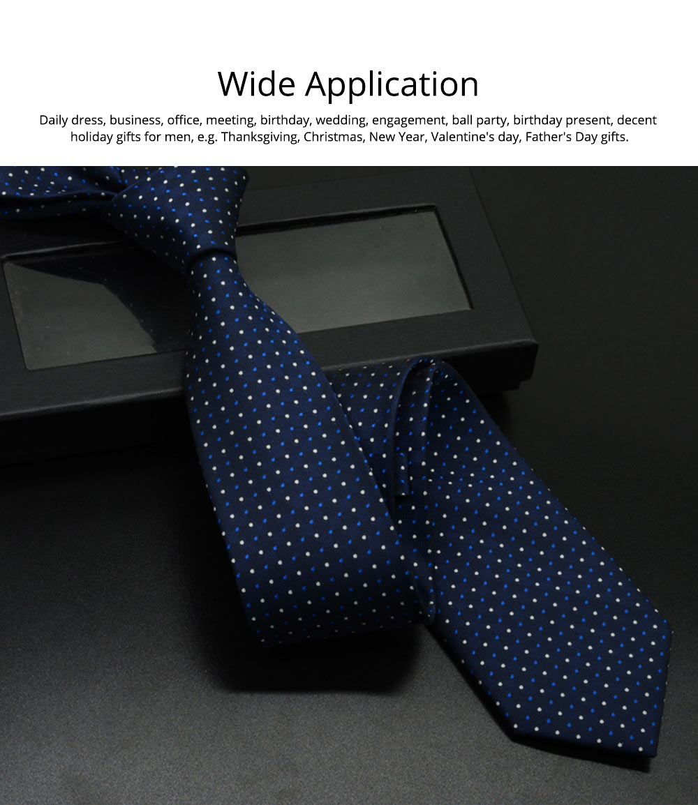 Self Tie Bow Ties for Men, Handcrafted Unique Wave Point Pattern Business Neckties for Groomsmen Gets Married, Various Styles 6