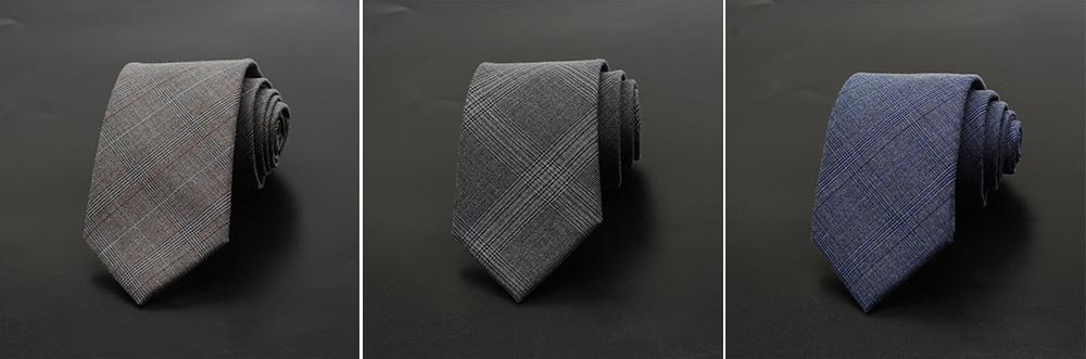 Men's Grid Necktie, Marvel Plaid Men' Business Self Tie Bow Ties 4