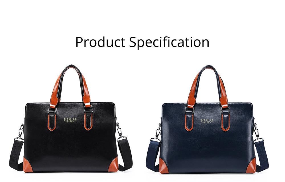 Single Shoulder Bag with Comfortable Hand Belt, PU Leather Large Capacity Inclined Shoulder Bag 11