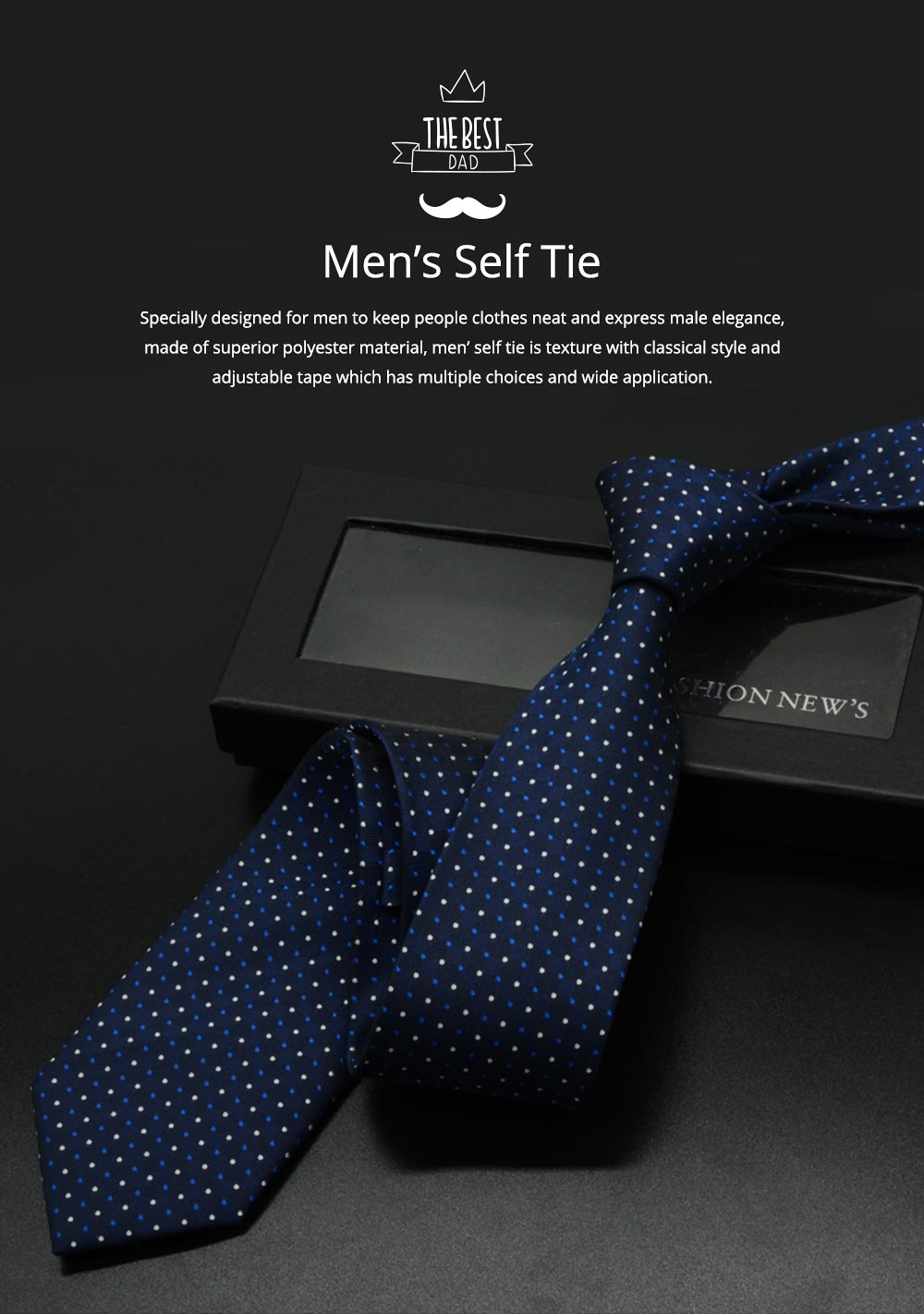 Self Tie Bow Ties for Men, Handcrafted Unique Wave Point Pattern Business Neckties for Groomsmen Gets Married, Various Styles 0