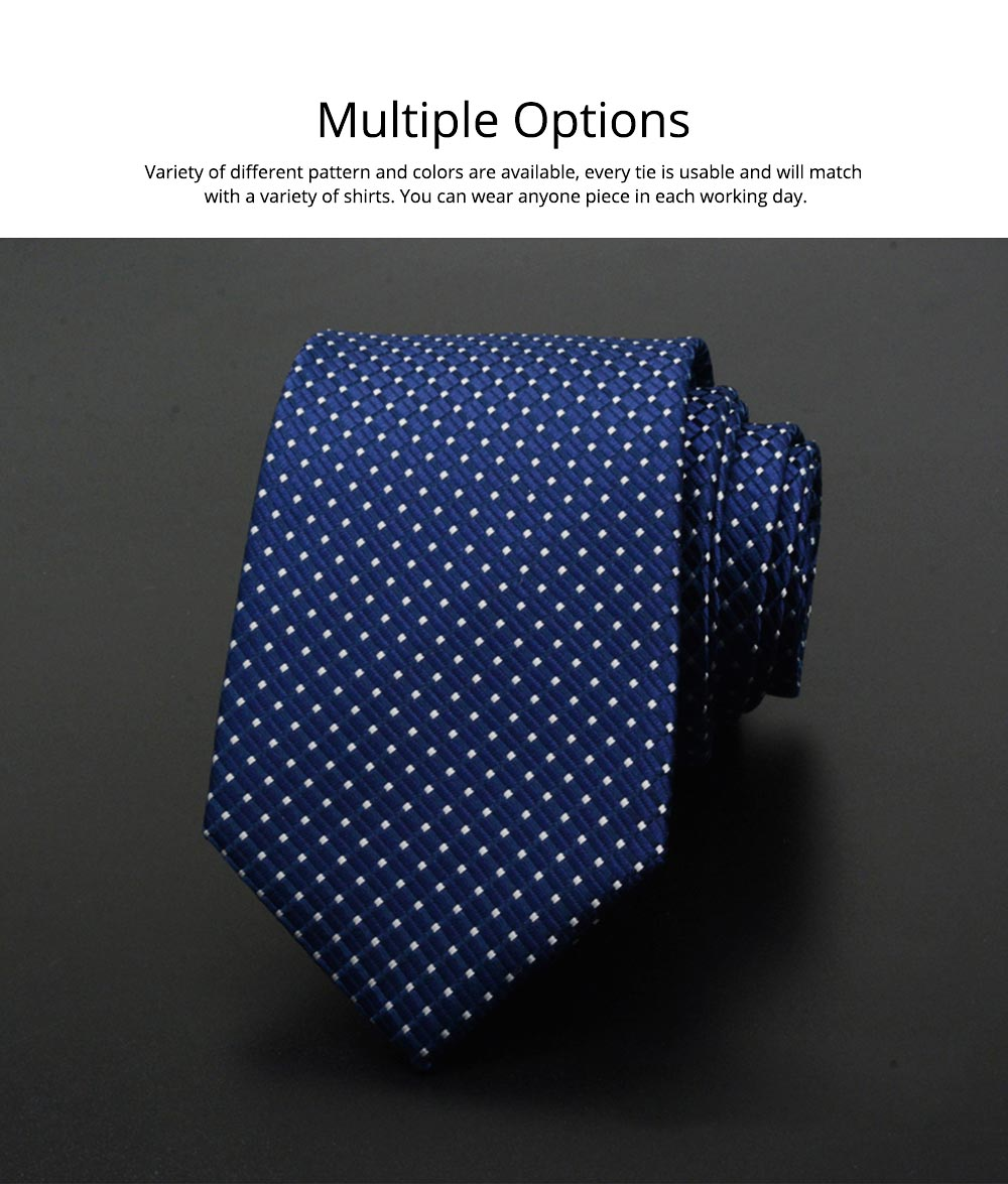 Self Tie Bow Ties for Men, Handcrafted Unique Wave Point Pattern Business Neckties for Groomsmen Gets Married, Various Styles 3
