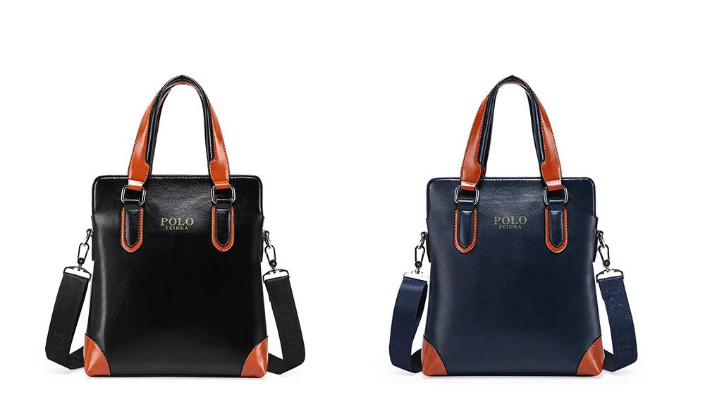 Single Shoulder Bag with Comfortable Hand Belt, PU Leather Large Capacity Inclined Shoulder Bag 13