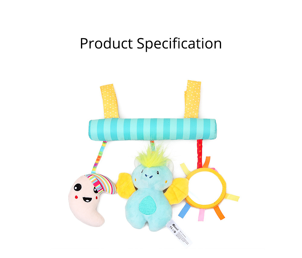 Multifunctional Pram Infants Bedside Hanging Toy with Music Function, Delicate Babies Pacification Sleeping Accompany Toy 11