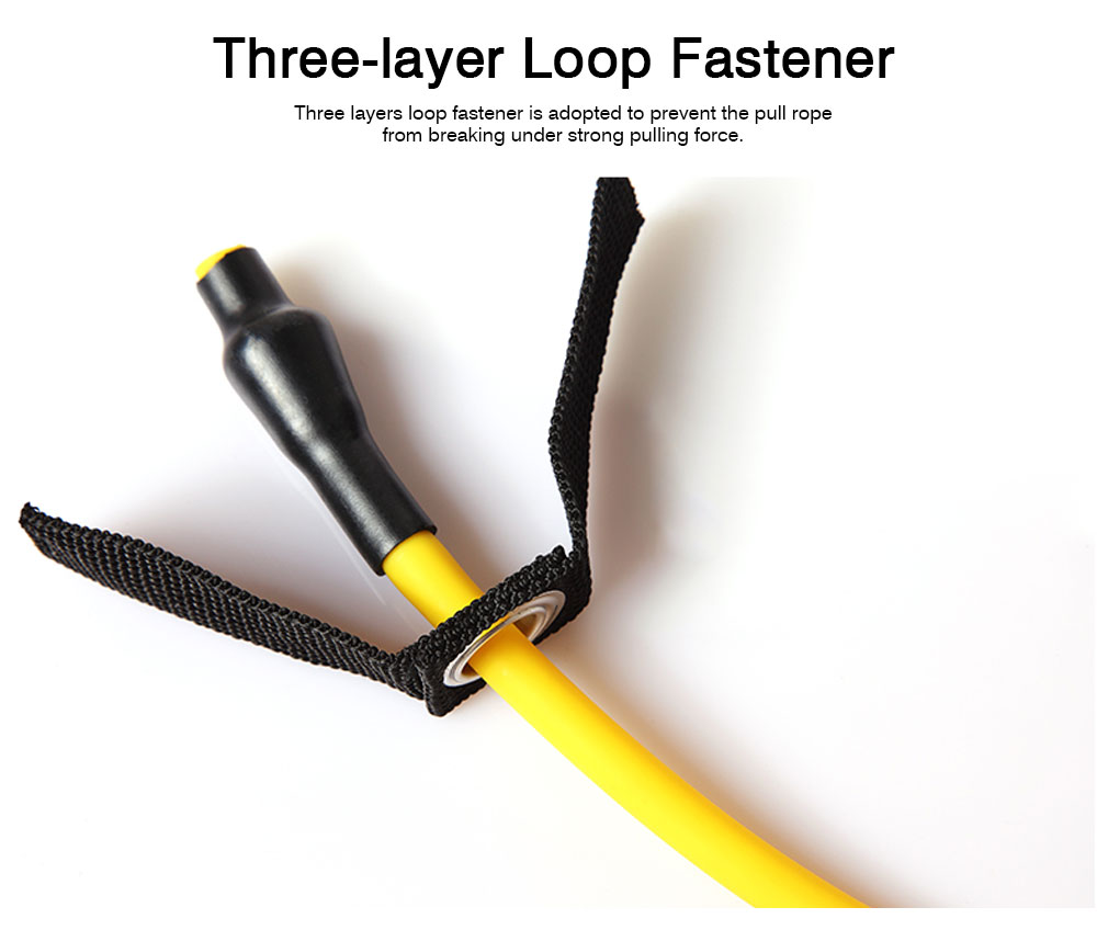 Multifunctional Household Strong-Elastic Rubber Pull Rope, Strength Training Exercise Resistance Band with Door Clasp 3