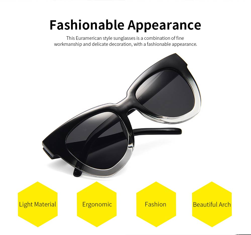 New Style Vintage Sunglasses, High Quality Fashionable Easy Matching Cateye Rayban for Summer 1
