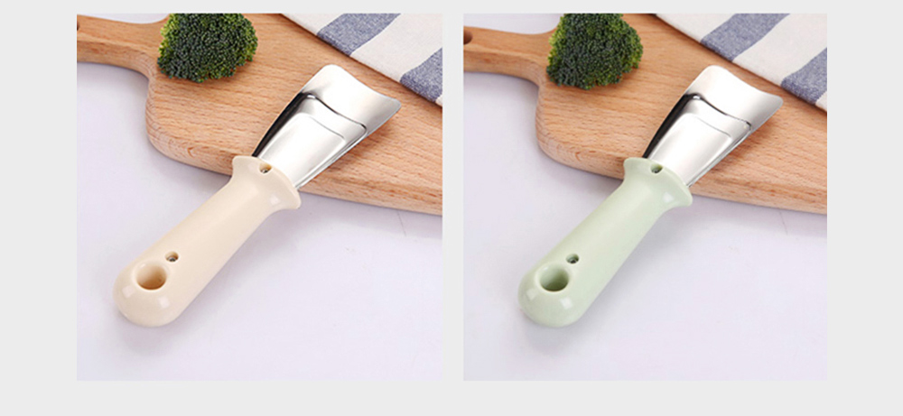 Ice Scraper Stainless Steel Refrigerator Ice Scoop Multifunctional Cutting Vegetable Kitchen Cleaning Tool 8